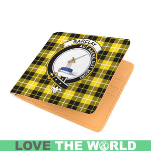 BARCLAY CLAN TARTAN MEN WALLET A3