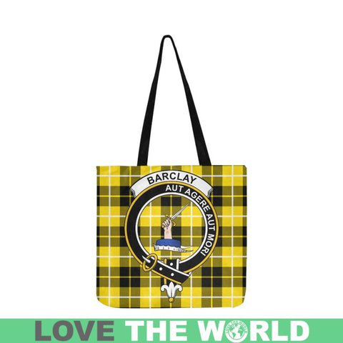 Barclay Dress Modern Clan Badge Tartan Reusable Shopping Bag - Hb1 Bags