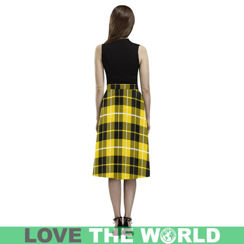 Barclay Dress Modern Tartan Aoede Crepe Skirt S12 Skirts