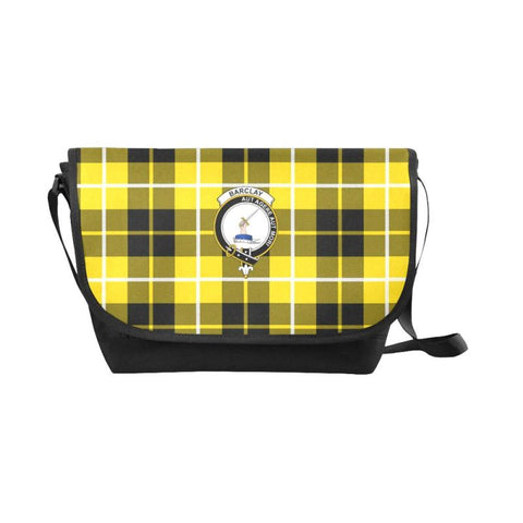 Image of Barclay Dress Modern Tartan Clan Badge Messenger Bag - Sd1 Bags