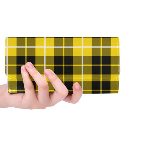 Barclay Dress Modern Tartan Trifold Wallet V4 One Size / Barclay Dress Modern Black Womens Trifold