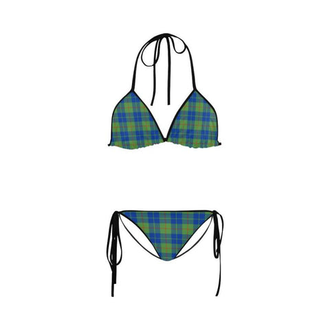 Barclay Hunting Ancient Tartan 2-Piece Bikini Z1 S / Black Bikinis