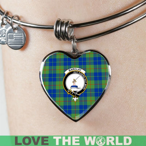 Image of Barclay Hunting Ancient Tartan Silver Bangles - Sd1 Luxury Bangle (Silver) Jewelries