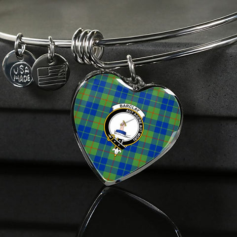 Barclay Hunting Ancient Tartan Silver Bangles - Sd1 Luxury Bangle (Silver) Jewelries
