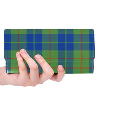 BARCLAY HUNTING ANCIENT TARTAN TRIFOLD WALLET HJ4