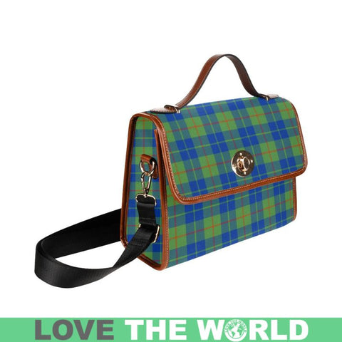 Image of Barclay Hunting Ancient Tartan Plaid Canvas Bag | Online Shopping Scottish Tartans Plaid Handbags