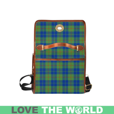 Image of Barclay Hunting Ancient Tartan Canvas Bag | Waterproof Bag | Scottish Bag