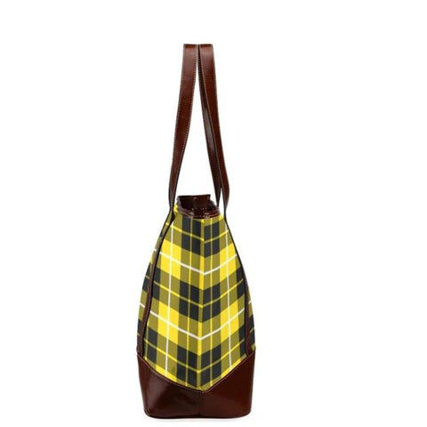 Barclay Tartan Clan Badge Tote Handbag Hj4 Handbags