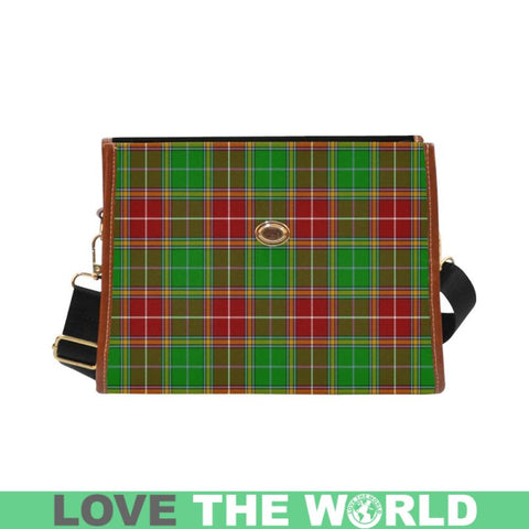 Image of Baxtar Modern Tartan Plaid Canvas Bag | Online Shopping Scottish Tartans Plaid Handbags