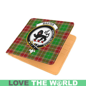 BAXTER CLAN TARTAN MEN WALLET A3
