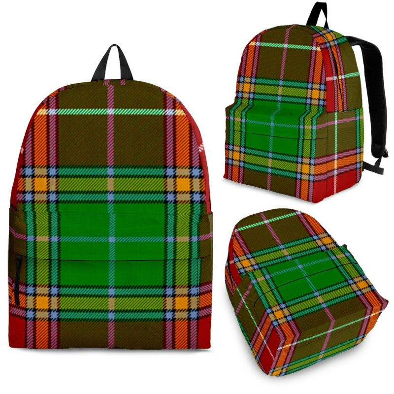 Baxter Modern Tartan Backpack Backpacks