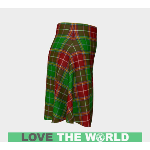 Tartan Skirt - Baxter Modern Women Flared Skirt A9 |Clothing| 1sttheworld