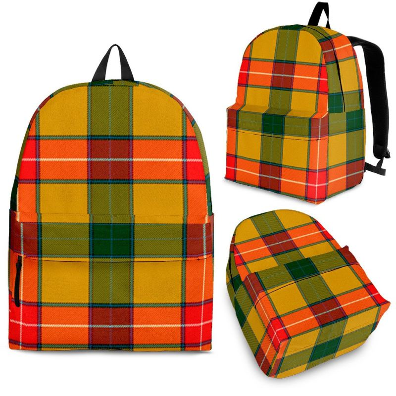 Baxter Tartan Backpack Backpacks