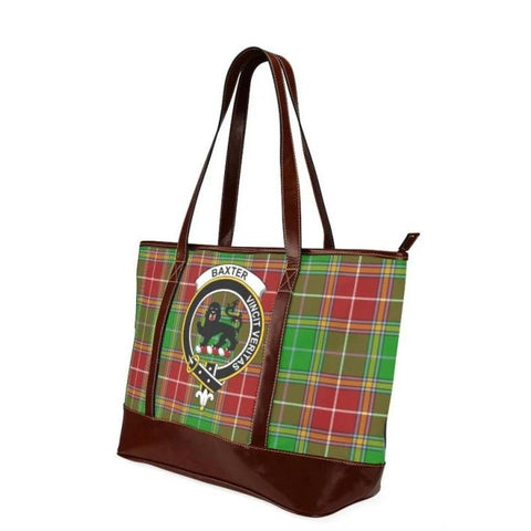 Baxter Tartan Clan Badge Tote Handbag Hj4 Handbags