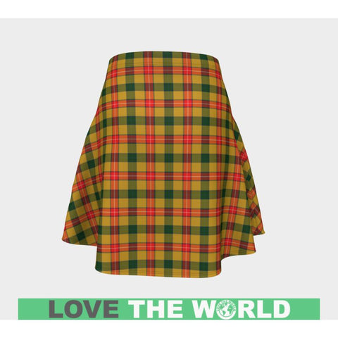 Tartan Skirt - Baxter Women Flared Skirt A9 |Clothing| 1sttheworld