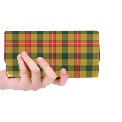 Baxter Tartan Trifold Wallet V4 One Size / Baxter Red Womens Trifold Wallet Wallets