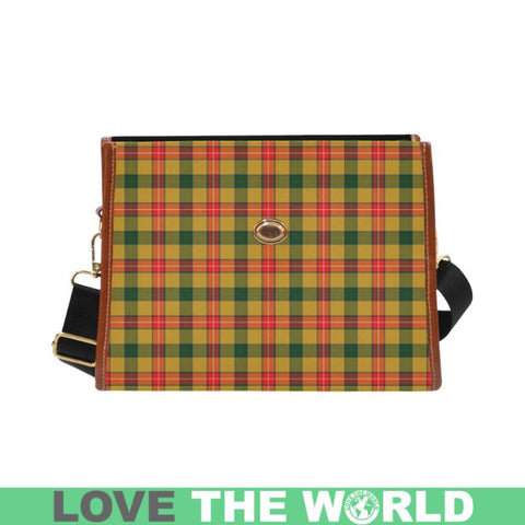 Baxter Tartan Canvas Bag | Waterproof Bag | Scottish Bag