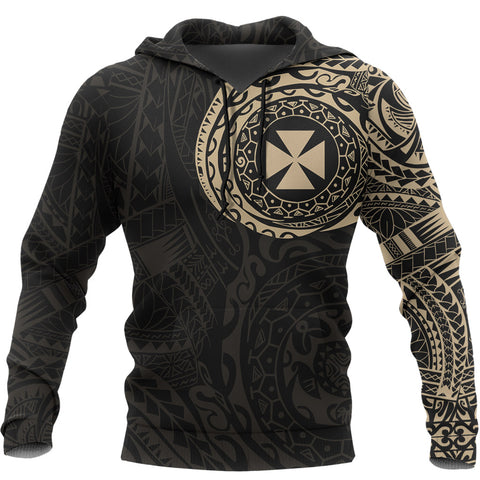 Wallis and Futuna Custom Hoodie Tattoo Style A7