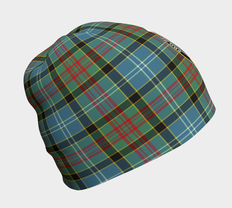 Image of Paisley District Tartan Clan Crest Beanie