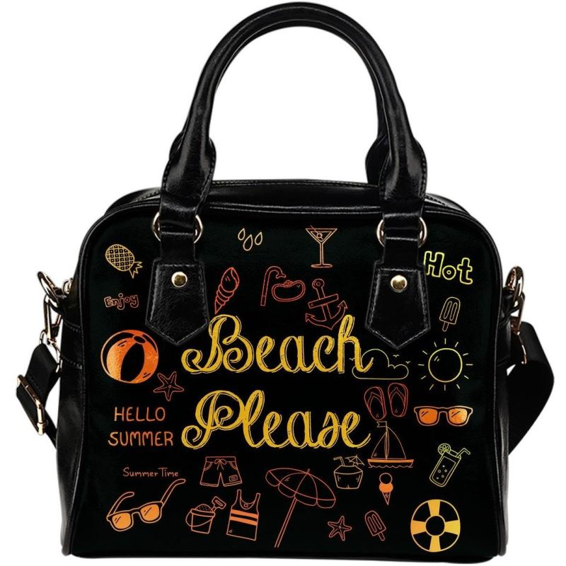 Beach Please Shoulder Handbag Handbags