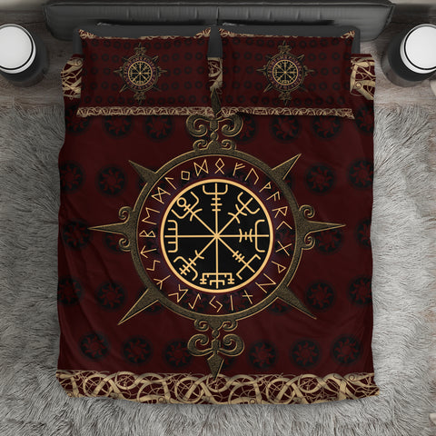 Viking Vegvisir Bedding Set | Home Set | Love The World