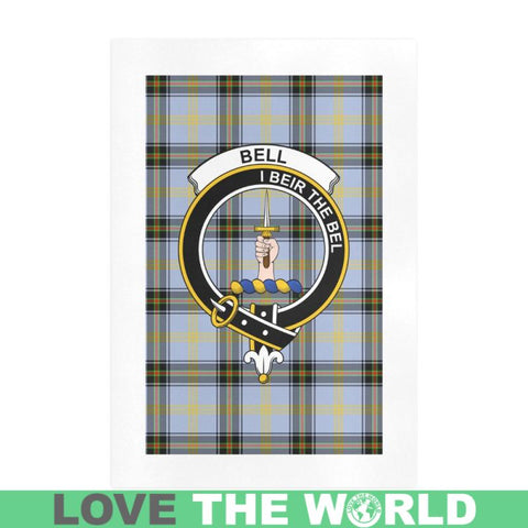 Image of Bell Clan Tartan Art Print F1 One Size / 16í_í‡X23í_í‡ Prints