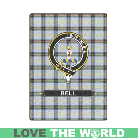 Image of Bell Clan Tartan Blanket Dn1 One Size / 40X50 Blankets