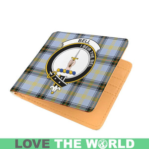 BELL CLAN TARTAN MEN WALLET A3