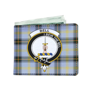 Bell Clan Tartan Men Wallet Y3 Wallets