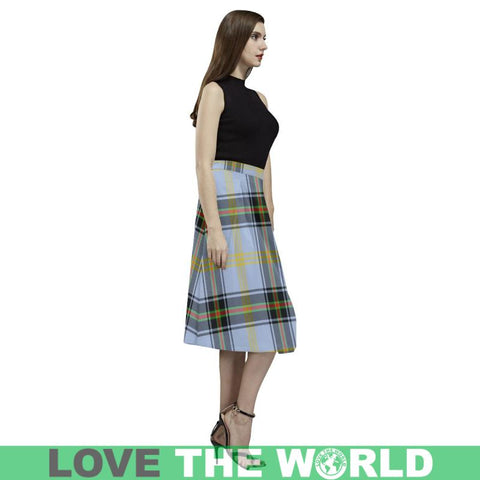 Bell Of The Borders Tartan Aoede Crepe Skirt S12 Skirts