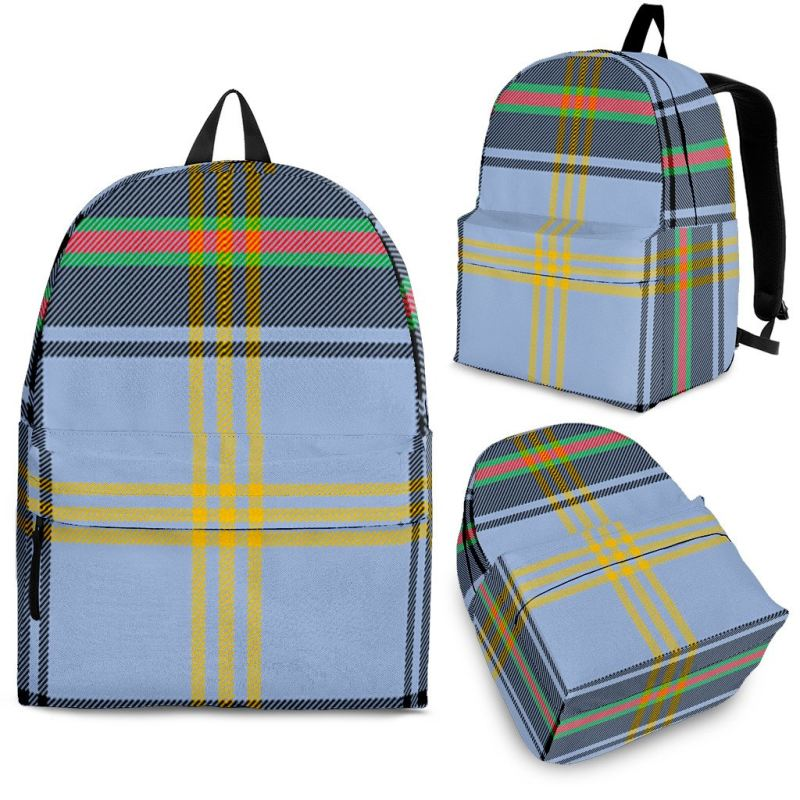 Bell Of The Borders Tartan Backpack Backpacks