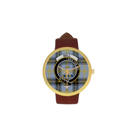 Bell Of The Borders Clan Badge Tartan Watch