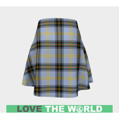 Tartan Skirt - Bell Of The Borders Women Flared Skirt A9 |Clothing| 1sttheworld