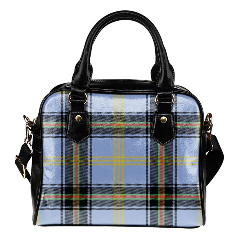 Bell Of The Borders Tartan Shoulder Handbag - Bn Handbags