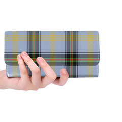 BELL OF THE BORDERS TARTAN TRIFOLD WALLET HJ4