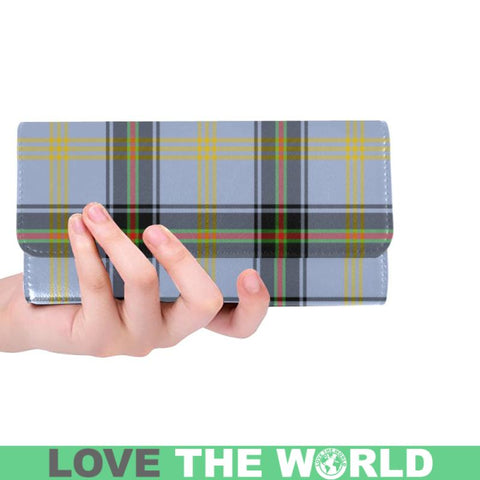 Bell Of The Borders Tartan Trifold Wallet V4 One Size / Bell Of The Borders Black Womens Trifold