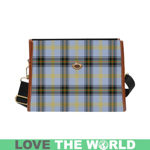 Image of Bell Of The Borders Tartan Canvas Bag | Waterproof Bag | Scottish Bag