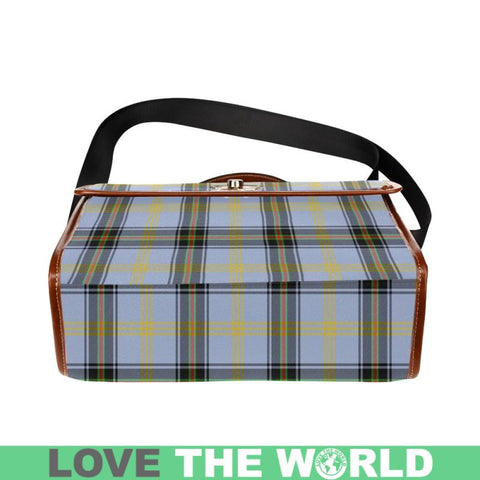 Image of Bell Of The Borders Tartan Plaid Canvas Bag | Online Shopping Scottish Tartans Plaid Handbags