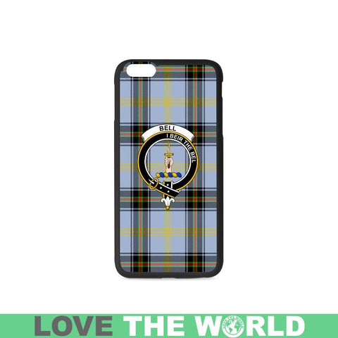Image of Bell Tartan Clan Badge Rubber Phone Case Hj4 One Size / Rubber Case For Iphone 7 Plus (5.5 Inch)