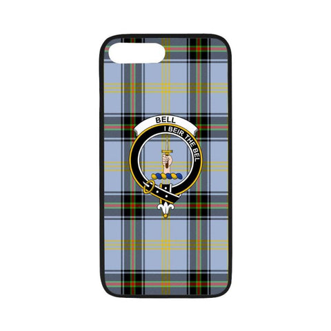 Bell Tartan Clan Badge Rubber Phone Case Hj4 One Size / Rubber Case For Iphone 7 Plus (5.5 Inch)