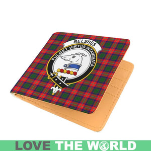 BELSHES CLAN TARTAN MEN WALLET A3