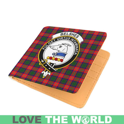 Belshes Clan Tartan Men Wallet Y3 Wallets