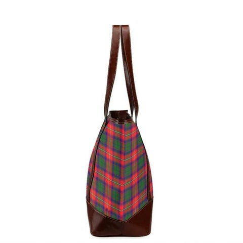 Belshes Tartan Clan Badge Tote Handbag Hj4 Handbags