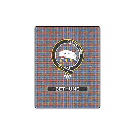 Image of Bethune Clan Tartan Blanket Dn1 One Size / 40X50 Blankets