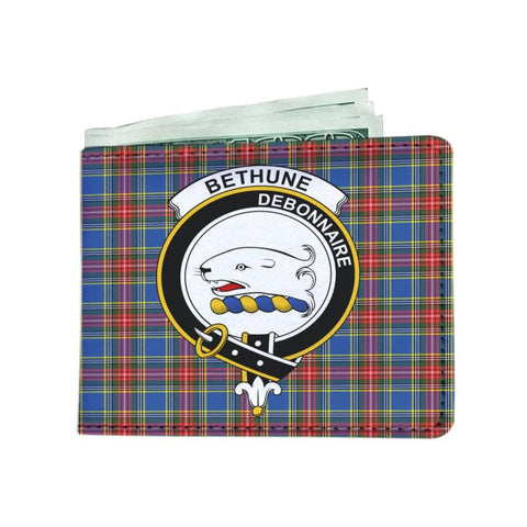 Bethune Clan Tartan Men Wallet Y3 Wallets