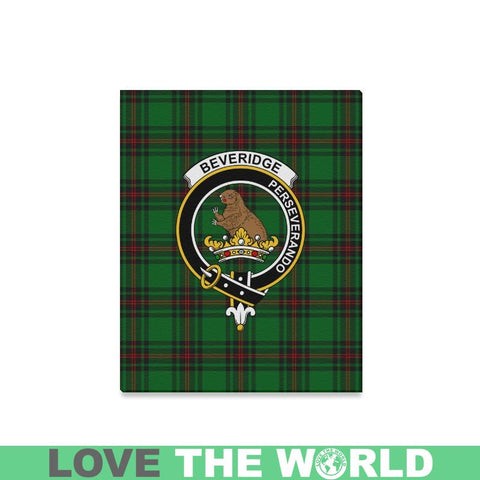 Tartan Canvas Print - Beveridge Clan | Over 300 Scottish Clans and 500 Tartans