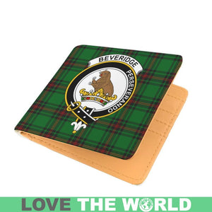 BEVERIDGE CLAN TARTAN MEN WALLET A3
