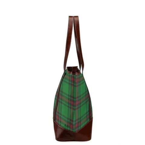 Beveridge Tartan Clan Badge Tote Handbag Hj4 Handbags