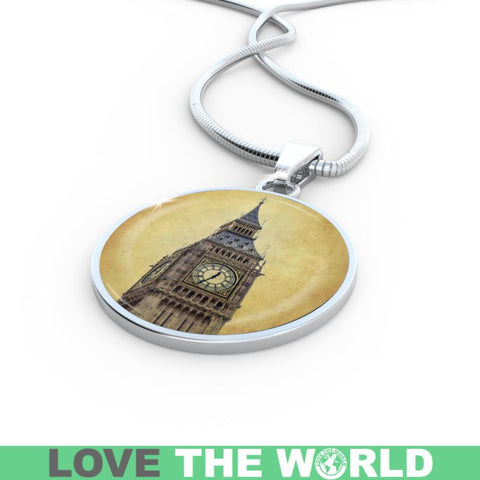 Image of Big Ben Tower Necklaces Z1