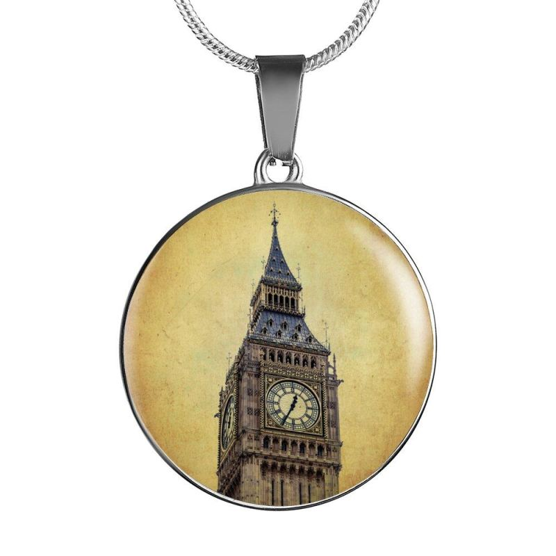 Big Ben Tower Necklaces Z1